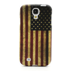 Gelové pouzdro pro Samsung Galaxy S4 i9500- Americká vlajka - 2