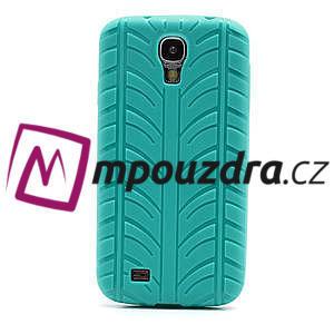 Gélové PNEU puzdro pro Samsung Galaxy S4 i9500- zelené - 2