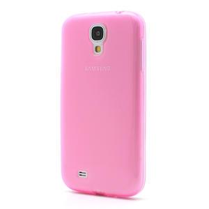 Gélové slim puzdro na Samsung Galaxy S4 i9500- růžové - 2