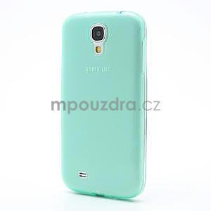 Gélové slim puzdro na Samsung Galaxy S4 i9500- zelené - 2