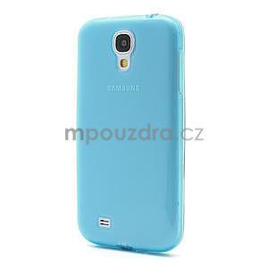 Gélové slim puzdro na Samsung Galaxy S4 i9500- modré - 2