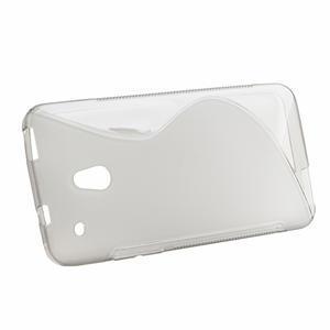 Gélové S-line puzdro pre HTC one Mini M4- šedé - 2