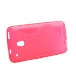 Gélové S-line puzdro pre HTC one Mini M4- růžové - 2/3
