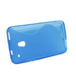 Gélové S-line puzdro pre HTC one Mini M4- modré - 2/4