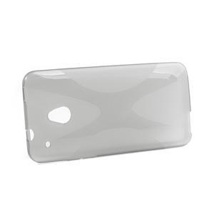 Gélové X-line puzdro pre HTC one Mini M4- šedé - 2