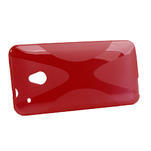 Gélové X-line puzdro pre HTC one Mini M4- červené - 2/3