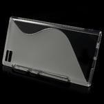 Gélové S-line puzdro pre Xiaomi Mi3- transparentný - 2/5