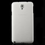 Gélové kartáčované puzdro pre Samsung Galaxy Note 3 Neo- biele - 2/3