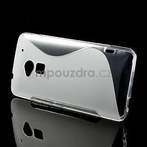 Gélové S-line puzdro pre HTC one Max-transparentný - 2