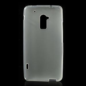 Gélové matné puzdro pre HTC one Max- bílá - 2