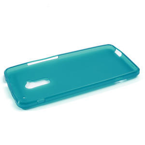 Gélové matné puzdro pre HTC one Max- svetlo modré - 2