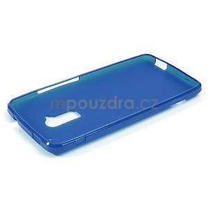 Gélové matné puzdro pre HTC one Max- modré - 2