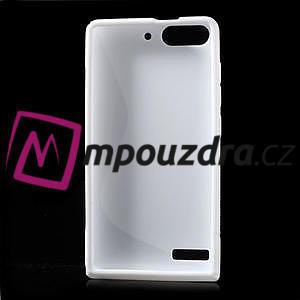 Gélové S-line puzdro na Huawei Ascend G6 - biele - 2