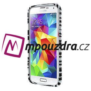 Gélové puzdro pre Samsung Galaxy S5- zebrovité - 2