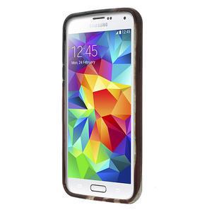 Gélové puzdro pre Samsung Galaxy S5- USA vlajka - 2