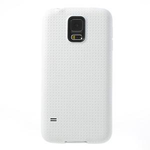 Gélové puzdro pre Samsung Galaxy S5- biele - 2