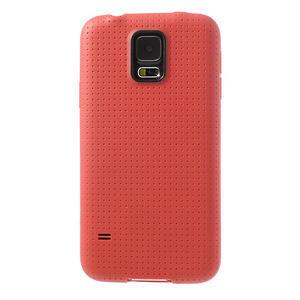 Gélové puzdro pre Samsung Galaxy S5- červené - 2