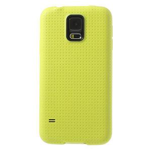 Gélové puzdro pre Samsung Galaxy S5- žlté - 2