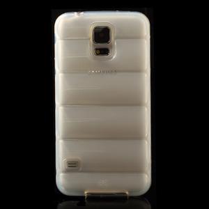 Gelové vesta pouzdro na Samsung Galaxy S5- bílé - 2