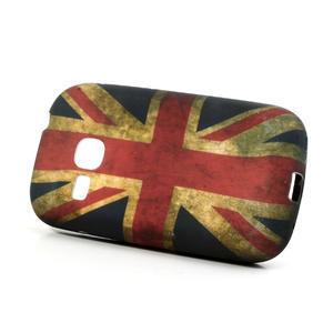 Gélové puzdro pre Samsung Galaxy Young S6310- UK vlajka - 2