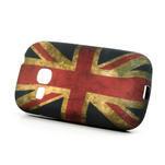 Gélové puzdro pre Samsung Galaxy Young S6310- UK vlajka - 2/5