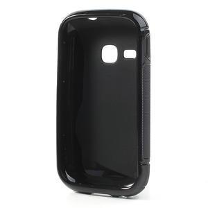 Gélové S-line puzdro na Samsung Galaxy Young S6310- čierné - 2