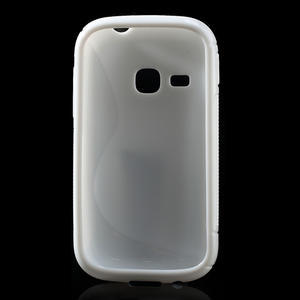 Gélové S-line puzdro na Samsung Galaxy Young S6310- biele - 2
