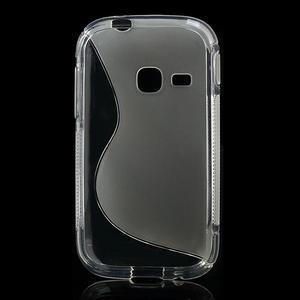 Gélové S-line puzdro na Samsung Galaxy Young S6310- transparentný - 2