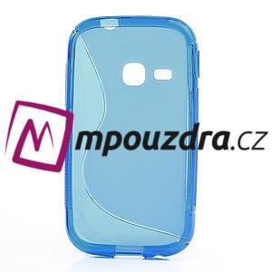 Gélové S-line puzdro na Samsung Galaxy Young S6310- modré - 2