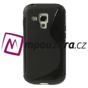 Gélové S-line puzdro pre Samsung Trend plus, S duos- čierné - 2