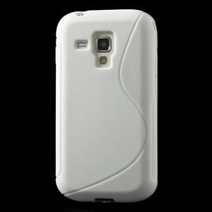 Gélové S-line puzdro pre Samsung Trend plus, S duos- biele - 2