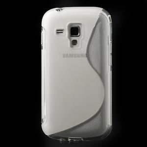 Gélové S-line puzdro pre Samsung Trend plus, S duos- transparentný - 2