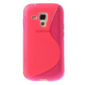 Gélové S-line puzdro pre Samsung Trend plus, S duos- růžové - 2