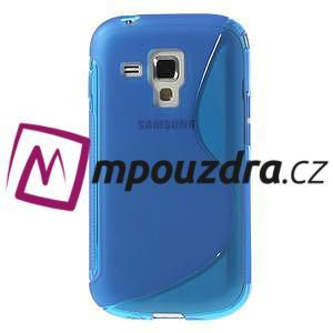Gélové S-line puzdro pre Samsung Trend plus, S duos- modré - 2
