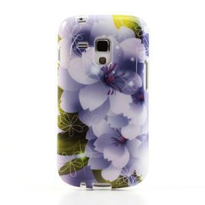 Gélové puzdro na Samsung Galaxy Trend, Duos- elegantný květ - 2
