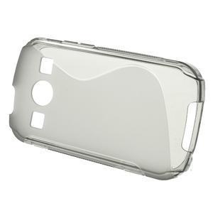 Gélové S-line puzdro pre Samsung Galaxy Xcover 2 S7710- šedé - 2