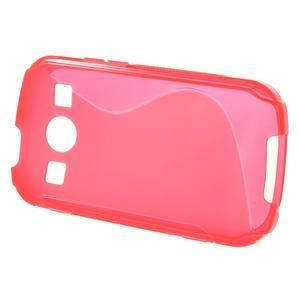 Gélové S-line puzdro na Samsung Galaxy Xcover 2 S7710- růžové - 2
