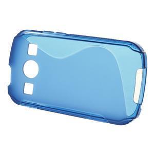Gélové S-line puzdro na Samsung Galaxy Xcover 2 S7710- modré - 2