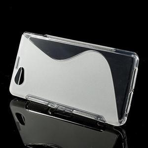 Gélové S-line puzdro na Sony Xperia Z1 Compact D5503- transparentný - 2