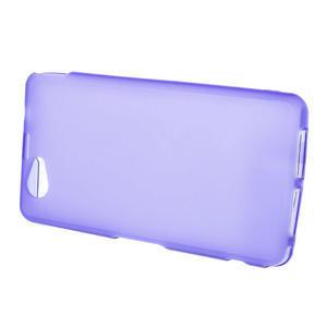 Gélové Ultraslim puzdro na Sony Xperia Z1 Compact D5503- fialové - 2