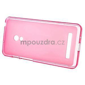 Gélové matné puzdro pre Asus Zenfone 5 - ružové - 2