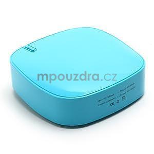 Štýlová externá nabíjačka power bank 6 000 mAh - modrá - 2
