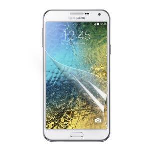 Matná fólia pre mobil Samsung Galaxy E7 - 2