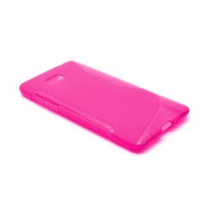 Gélové S-line puzdro pre HTC Desire 600- růžové - 2