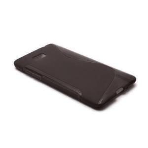 Gélové S-line puzdro pre HTC Desire 600- čierné - 2