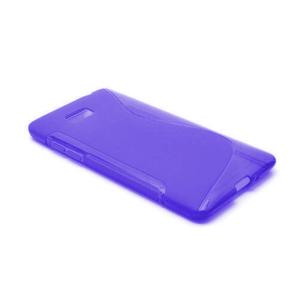 Gélové S-line puzdro pre HTC Desire 600- fialové - 2