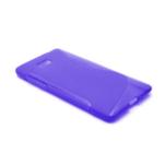 Gélové S-line puzdro pre HTC Desire 600- fialové - 2/6