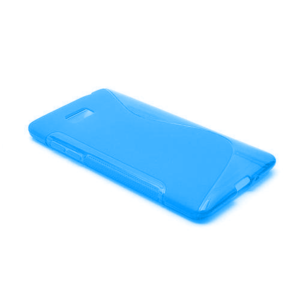 Gélové S-line puzdro pre HTC Desire 600- modré - 2