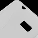 Gélové S-line puzdro pre HTC Desire 600- biele - 2/2
