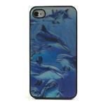 3D puzdro pre iPhone 4 4S - delfín - 2/6